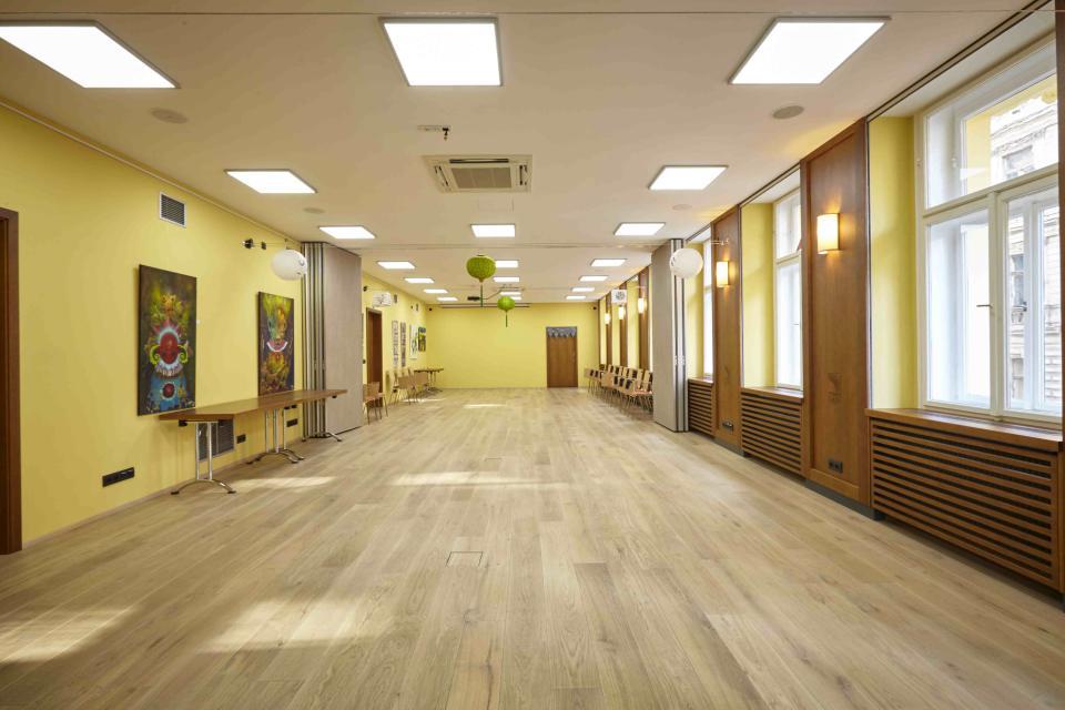 cvičební sál Etnosvět