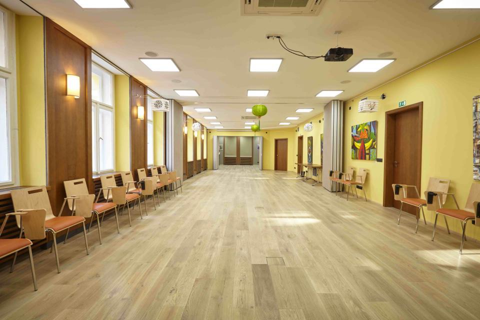 cvičební sál Ethnomir